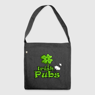 Irish pubs funny pubs shirt - Shoulder Bag made from recycled material