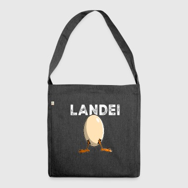 Landei - Schultertasche aus Recycling-Material