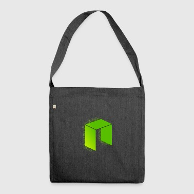 Neo splatter - Shoulder Bag made from recycled material