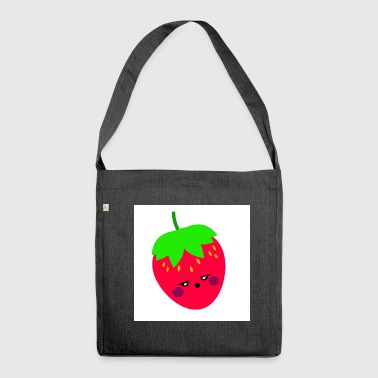 strawberry - Shoulder Bag made from recycled material