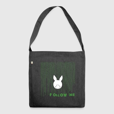 white rabbit - Shoulder Bag made from recycled material