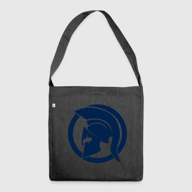 Blue Spartan - Shoulder Bag made from recycled material