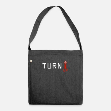 Turn On Turn up - Shoulder Bag made from recycled material