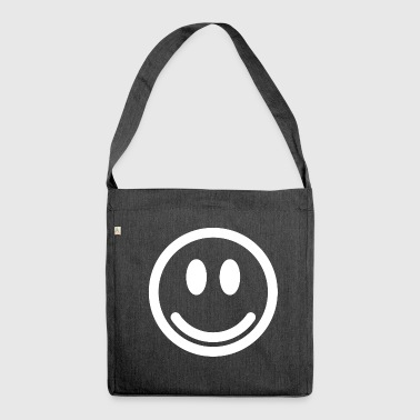 Smile Emoticon smile smile smile Happy - Borsa in materiale riciclato