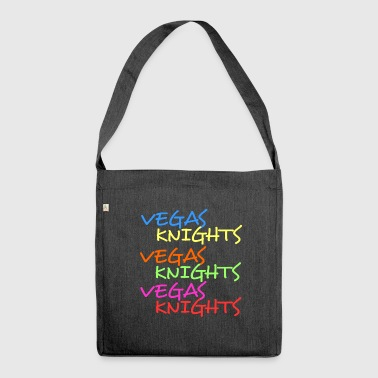 Vegas Knights Vegas nights Las Vegas the metropolis - Shoulder Bag made from recycled material