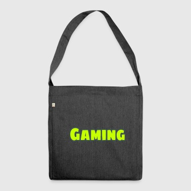 Font (gamer) - Shoulder Bag made from recycled material
