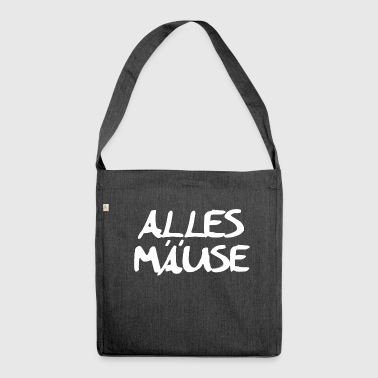 Alles Maeuse - Schultertasche aus Recycling-Material