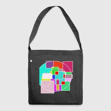 Beautiful bliss artwork - Shoulder Bag made from recycled material