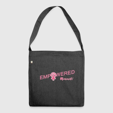 #Feminist - Shoulder Bag made from recycled material