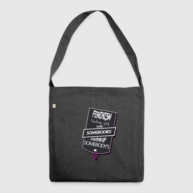 femminismo - Borsa in materiale riciclato
