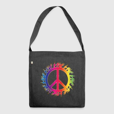 Love Community - Schultertasche aus Recycling-Material