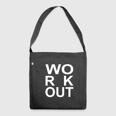 Workout - Schultertasche aus Recycling-Material