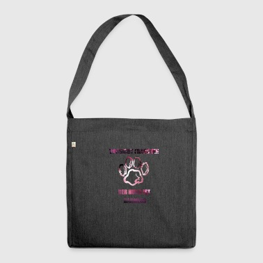 Gassi gassi 1 - Schultertasche aus Recycling-Material