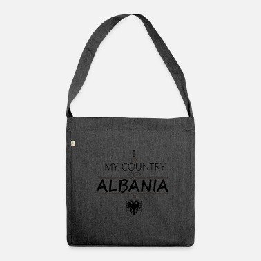 Albania Albania - Albania - Shoulder Bag made from recycled material