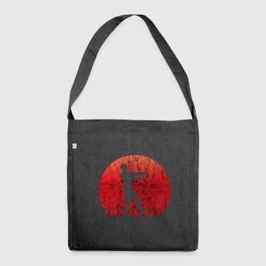 Zombies Zombie Undead Undead Halloween Gift - Shoulder Bag made from recycled material