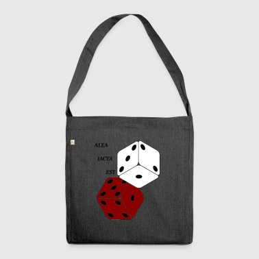 The die is cast - Shoulder Bag made from recycled material