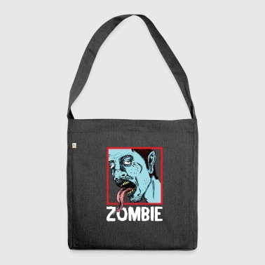 Zombie - Zombies - Schultertasche aus Recycling-Material