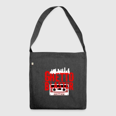 Ghetto Blaster - Shoulder Bag made from recycled material