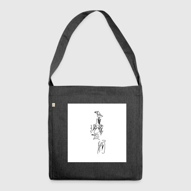 the artist - Shoulder Bag made from recycled material