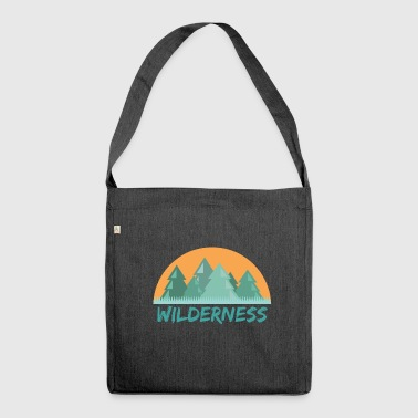 Wilderness forest - Shoulder Bag made from recycled material
