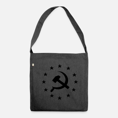 Communist Socialist Communist Europe - Shoulder Bag made from recycled material