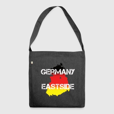 Germany Westside West Germany Gift Idea - Shoulder Bag made from recycled material