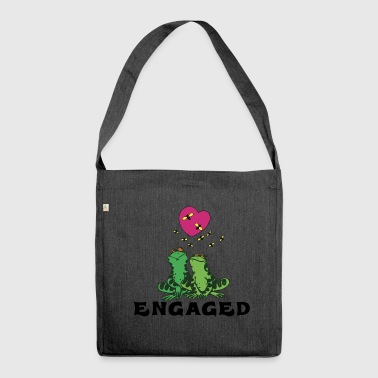 Engagement Engaged - Shoulder Bag made from recycled material