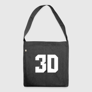 3D - Shoulder Bag made from recycled material
