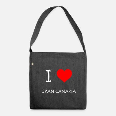 Gran Canaria I Love Gran Canaria - Shoulder Bag recycled