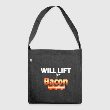 Lifting Will lift - Shoulder Bag made from recycled material