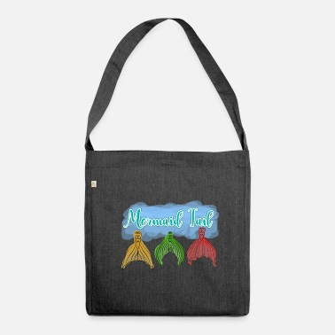 Fairy Tail Mermaid tail mermaid tail - Shoulder Bag made from recycled material