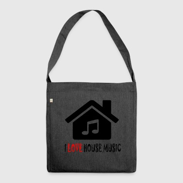 House House Music House Party Shirt - Shoulder Bag made from recycled material