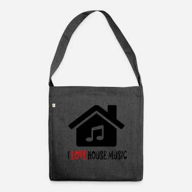 Acid House House Music House Party Shirt - Shoulder Bag made from recycled material