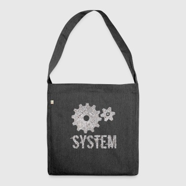 System - Schultertasche aus Recycling-Material