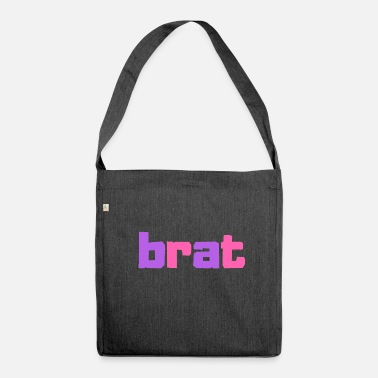 Brat Brat - Shoulder Bag made from recycled material