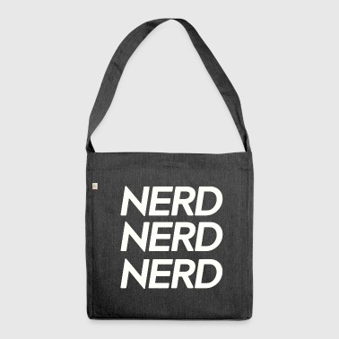 Nerd, nerd, nerd - Shoulder Bag made from recycled material