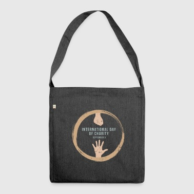 Charity welfare social justice memorial day - Shoulder Bag made from recycled material