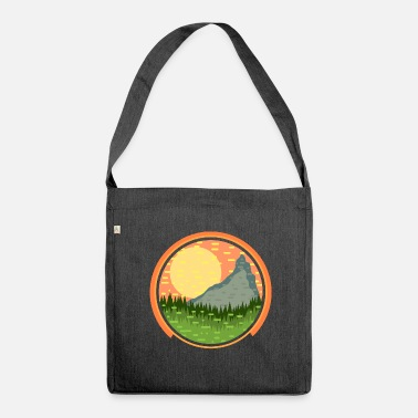 Landscape landscape - Shoulder Bag made from recycled material