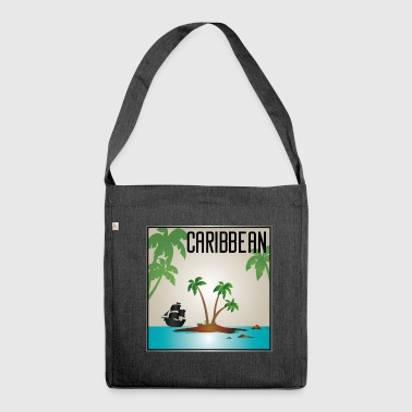Caribbean CARIBBEAN - Shoulder Bag made from recycled material