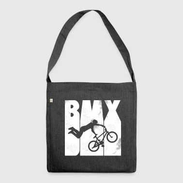 Retro 1970 BMX - bycicle - Extreme Sports - Shoulder Bag made from recycled material