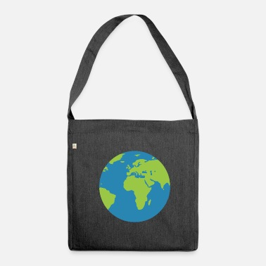 World world - Shoulder Bag made from recycled material