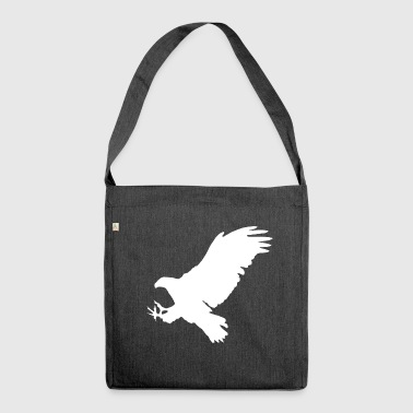 Bird Eagle bird of prey bird animal - Shoulder Bag made from recycled material