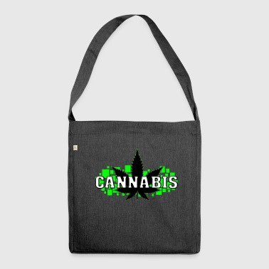 Weed - Grass - Smoke - Smoking - Shoulder Bag made from recycled material