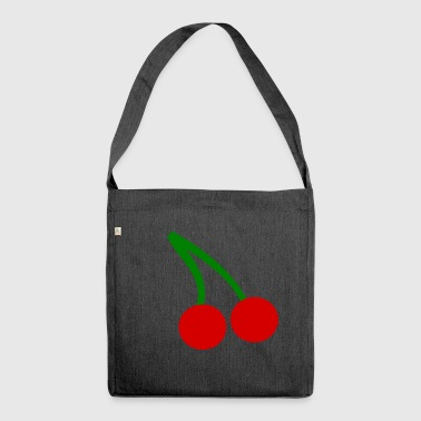 Cherry Cherry Cherry Cherry Cherry Cherry - Shoulder Bag made from recycled material