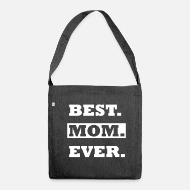 Makula BEST MUM EVER SHIRT - Shoulder Bag made from recycled material