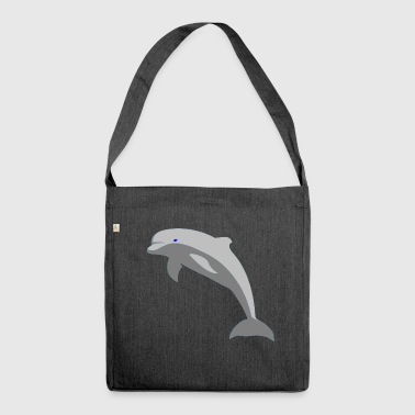Dolphin - Shoulder Bag made from recycled material