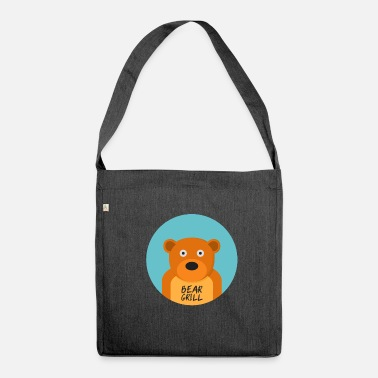 Officialbrands Bear Grill T-Shirt - Shoulder Bag made from recycled material