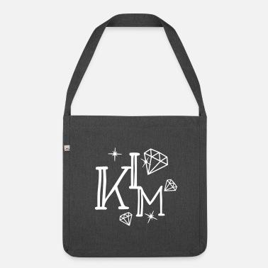 Nimi Nimi Kim Nimi Diamonds - Olkalaukku kierrätysmateriaalista b4bd7b115b