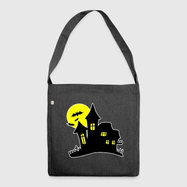 House Halloween Haunted House Haunted House - Borsa in materiale riciclato