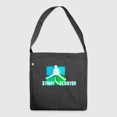 Stunt Scooter Kickboard Stunt Roller Action Chemise - Sac bandoulière 100 % recyclé